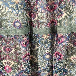 As U Wish Dresses - NWT AS U WISH Sheer Flirty Dress Tie Keyhole Top